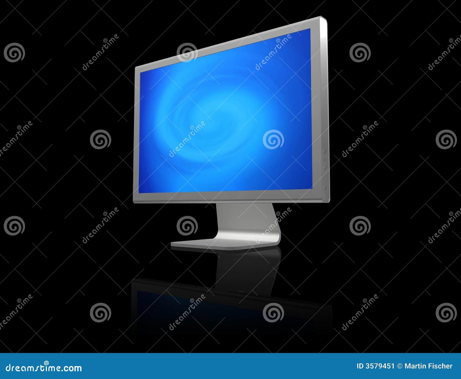 Obraz komputerowy monitor