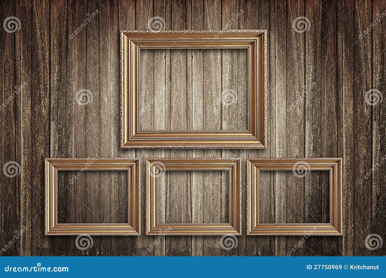 Obrazek ramy na starej ścianie