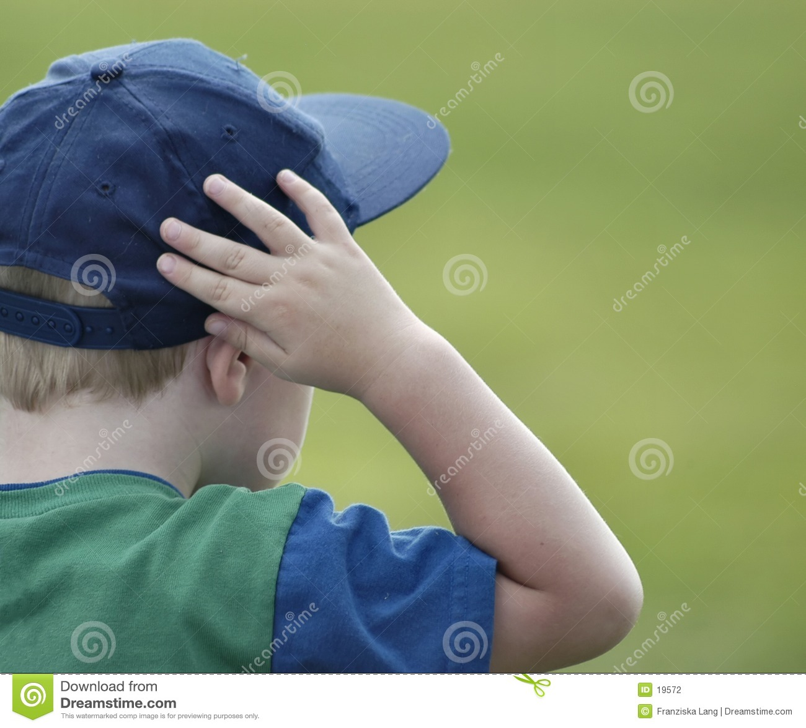 Observación del muchacho