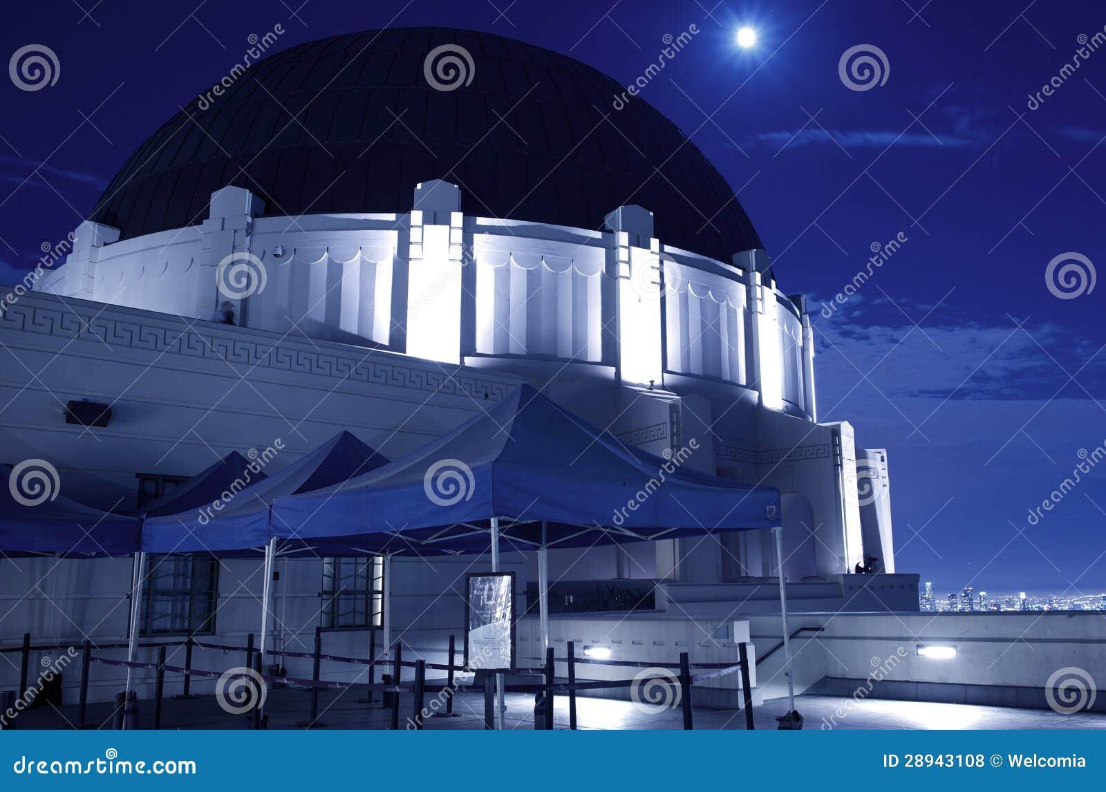 Observatoire de Griffith la nuit