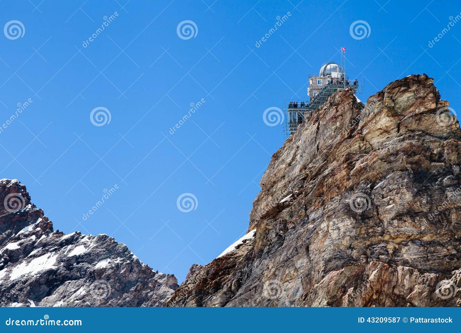 Download Observatorium För Hög Höjd För Sfinx I Det Jungfraujoch Passerandet I Switzer Fotografering för Bildbyråer - Bild av switzerland, kant: 43209587