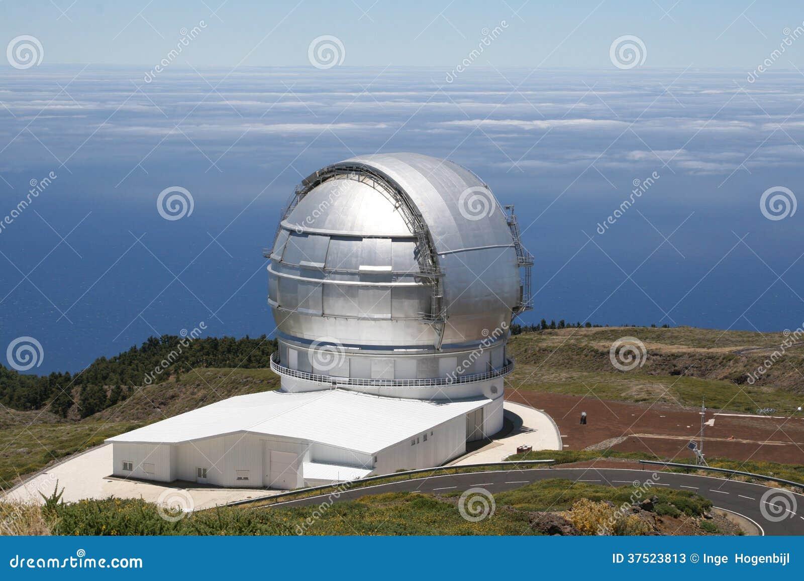 Modern Observatory For Exploring The Universe La Palma