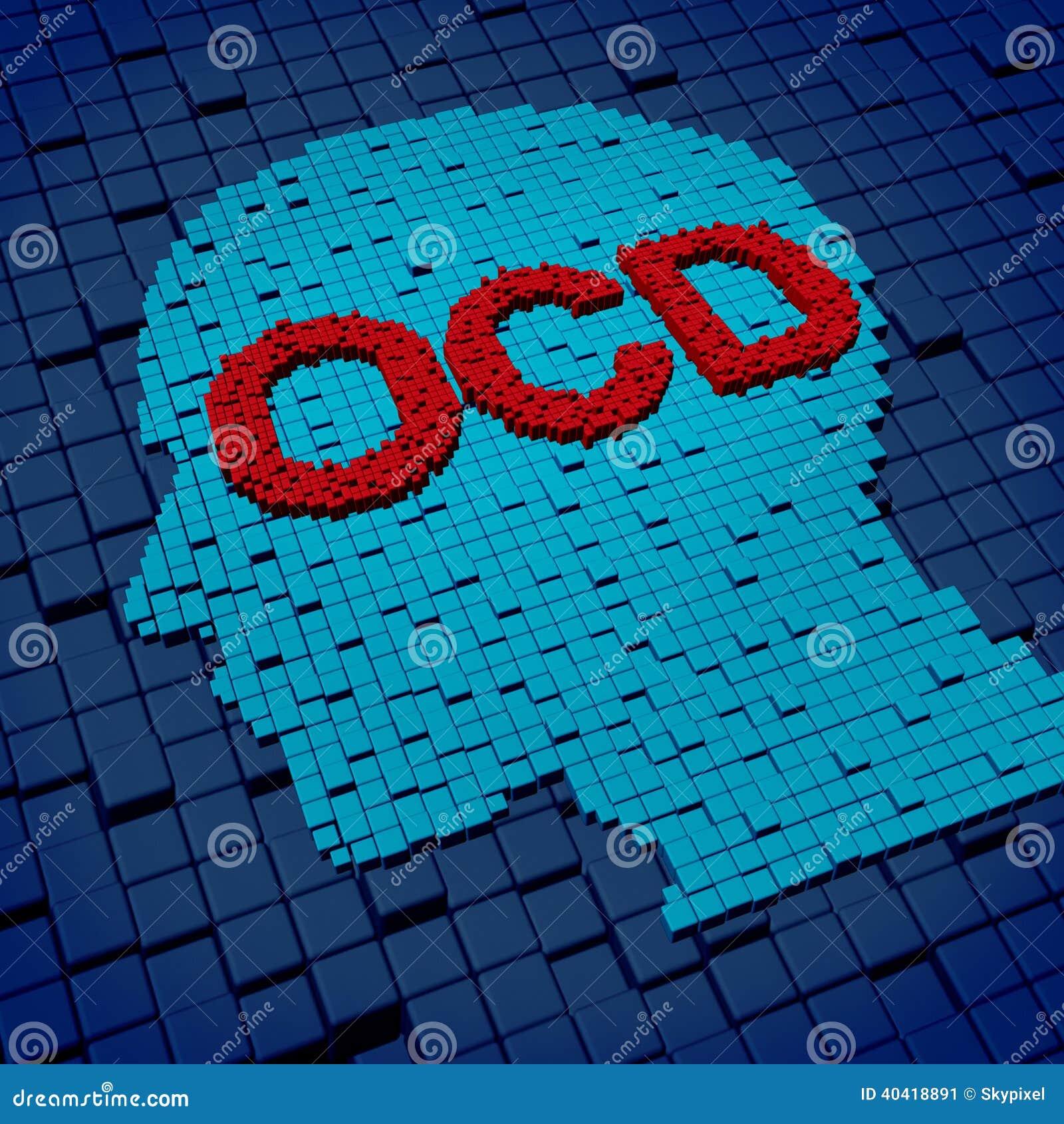 Obsessive Compulsive Disorder Stock Illustration - Image ... Human Head Brain Vector