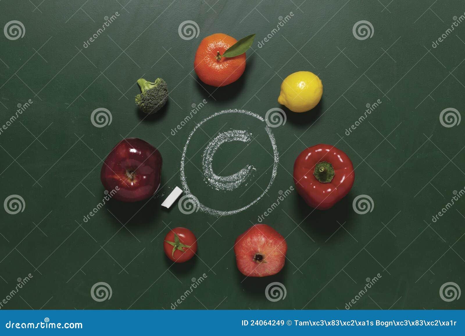 Obst und Gemüse enthalten Vitamin C