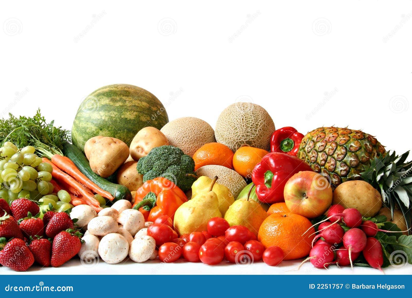 Obst- und Gemüse Vielzahl