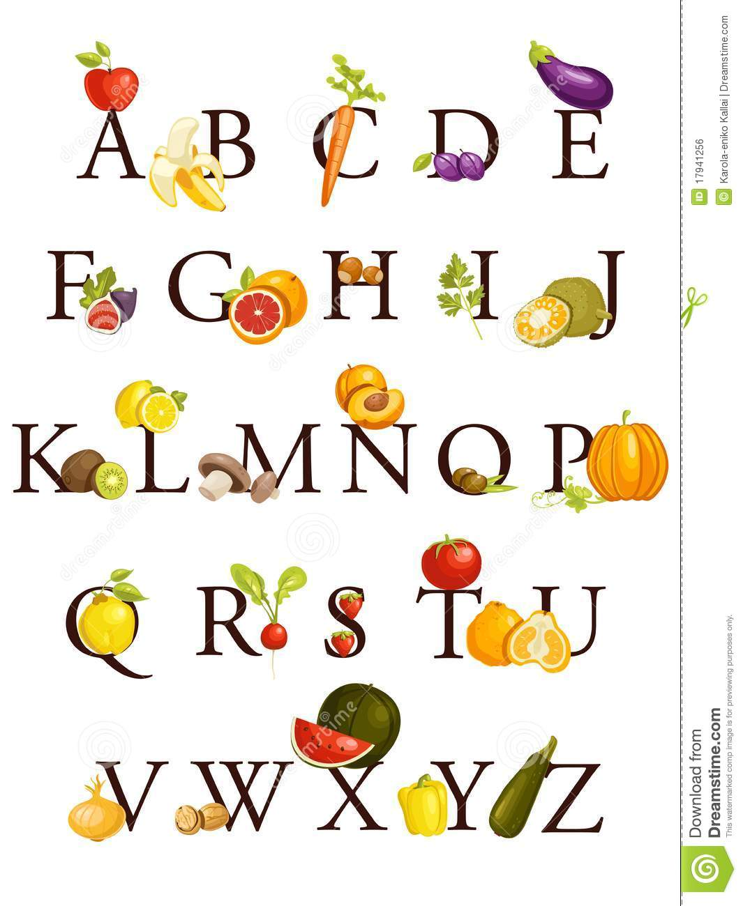 Kinds Of Vegetables Starts With Letter A