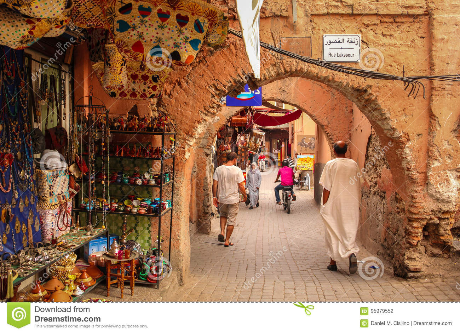 2008 obszarów Barcelona barri może gottic sceny Hiszpanii street marrakesh Maroko
