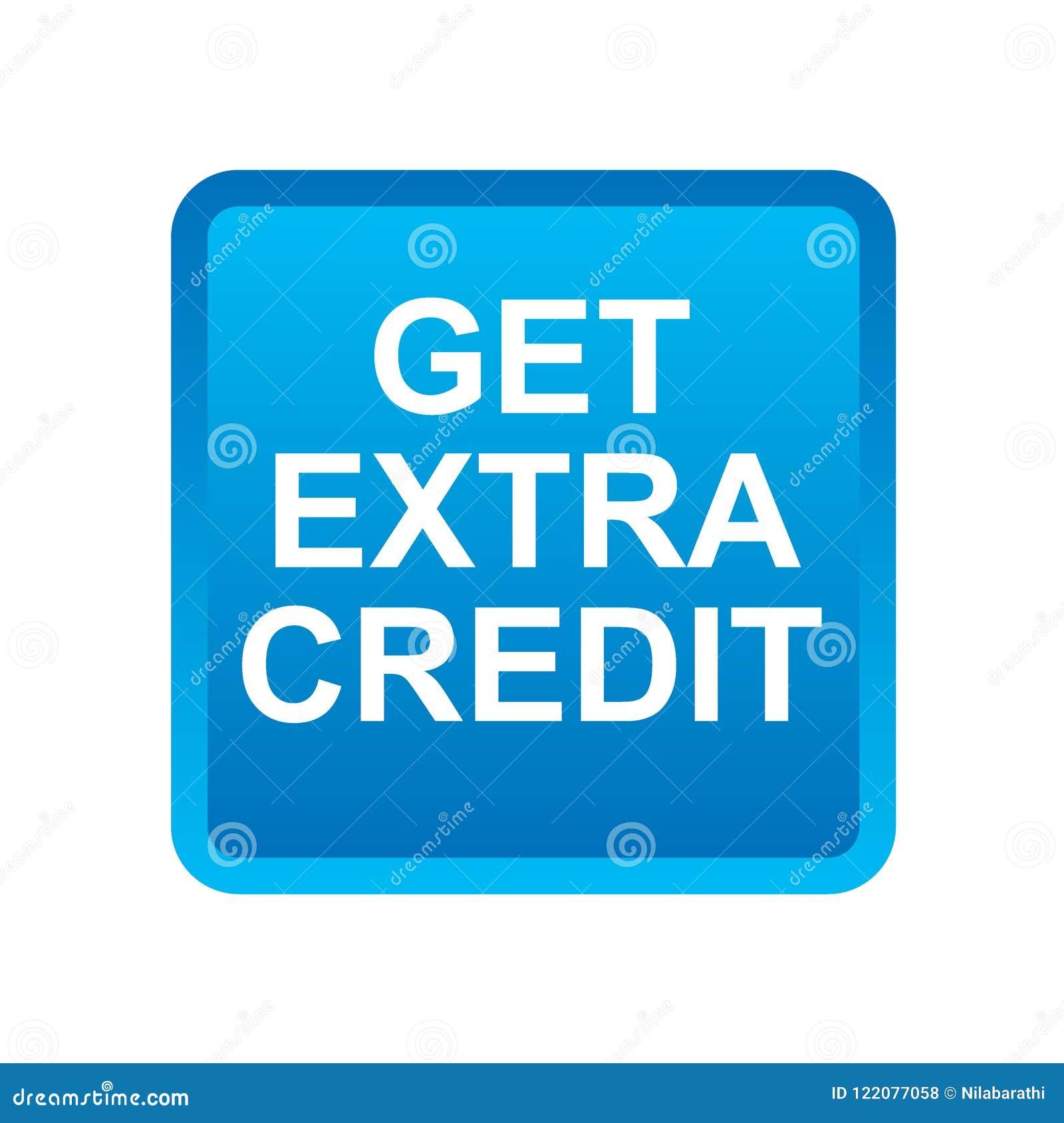 Obtenez le crédit supplémentaire