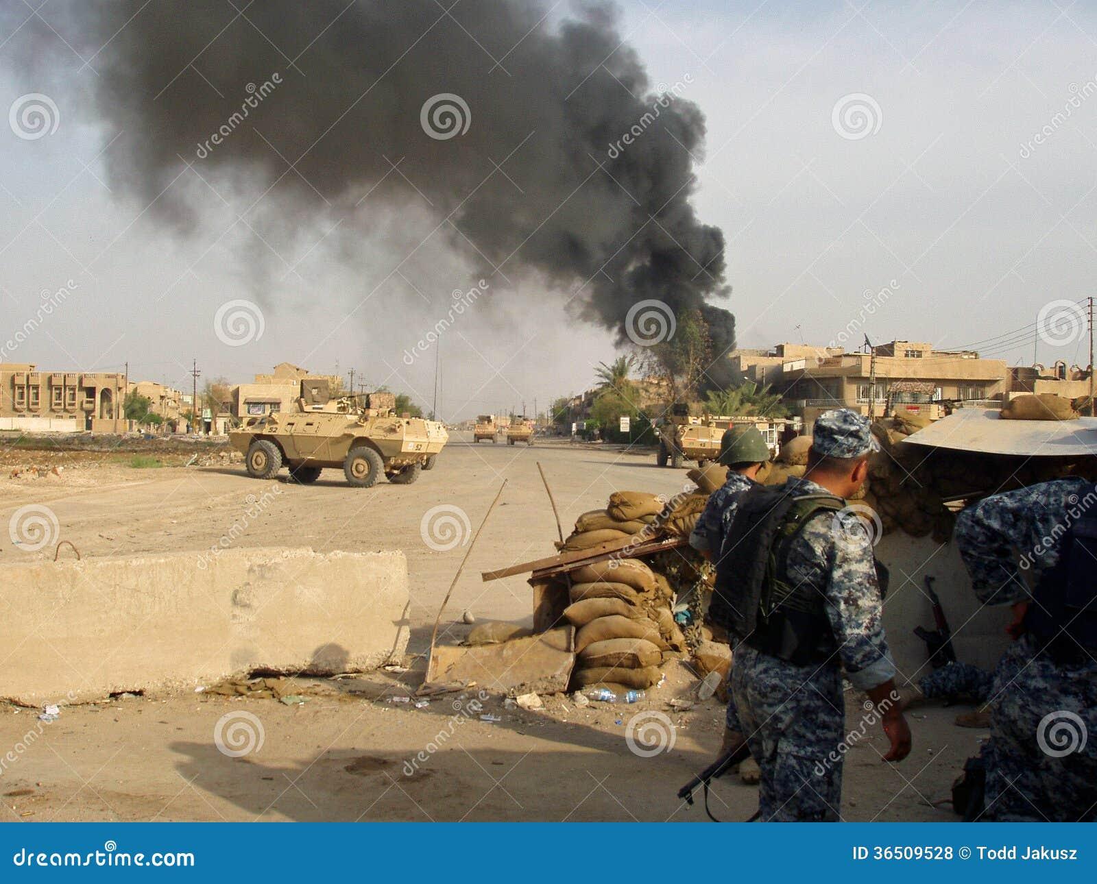 Obtention de Mortared Bagdad Irak 07