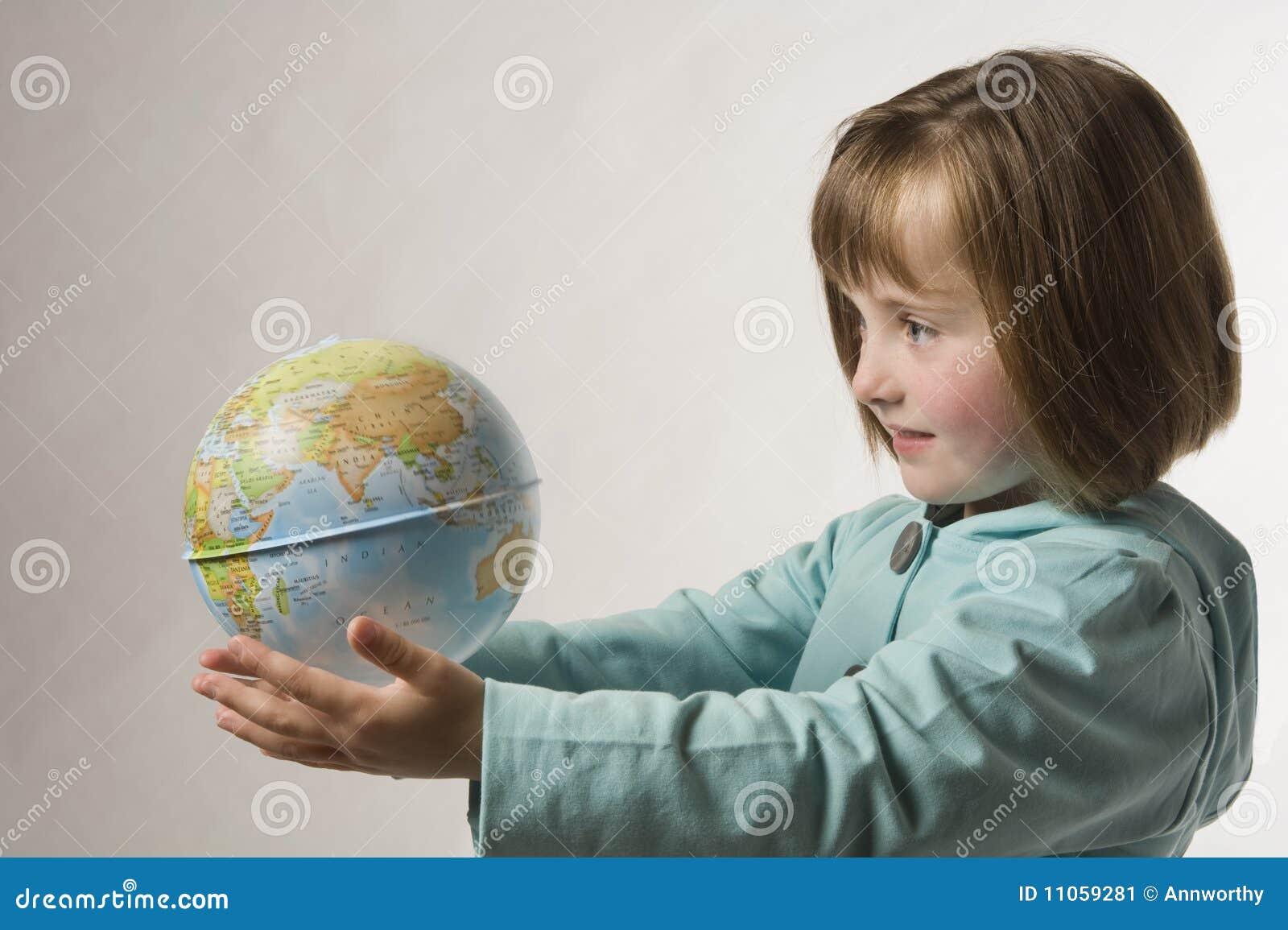 A obtenu le monde entier dans des mes mains