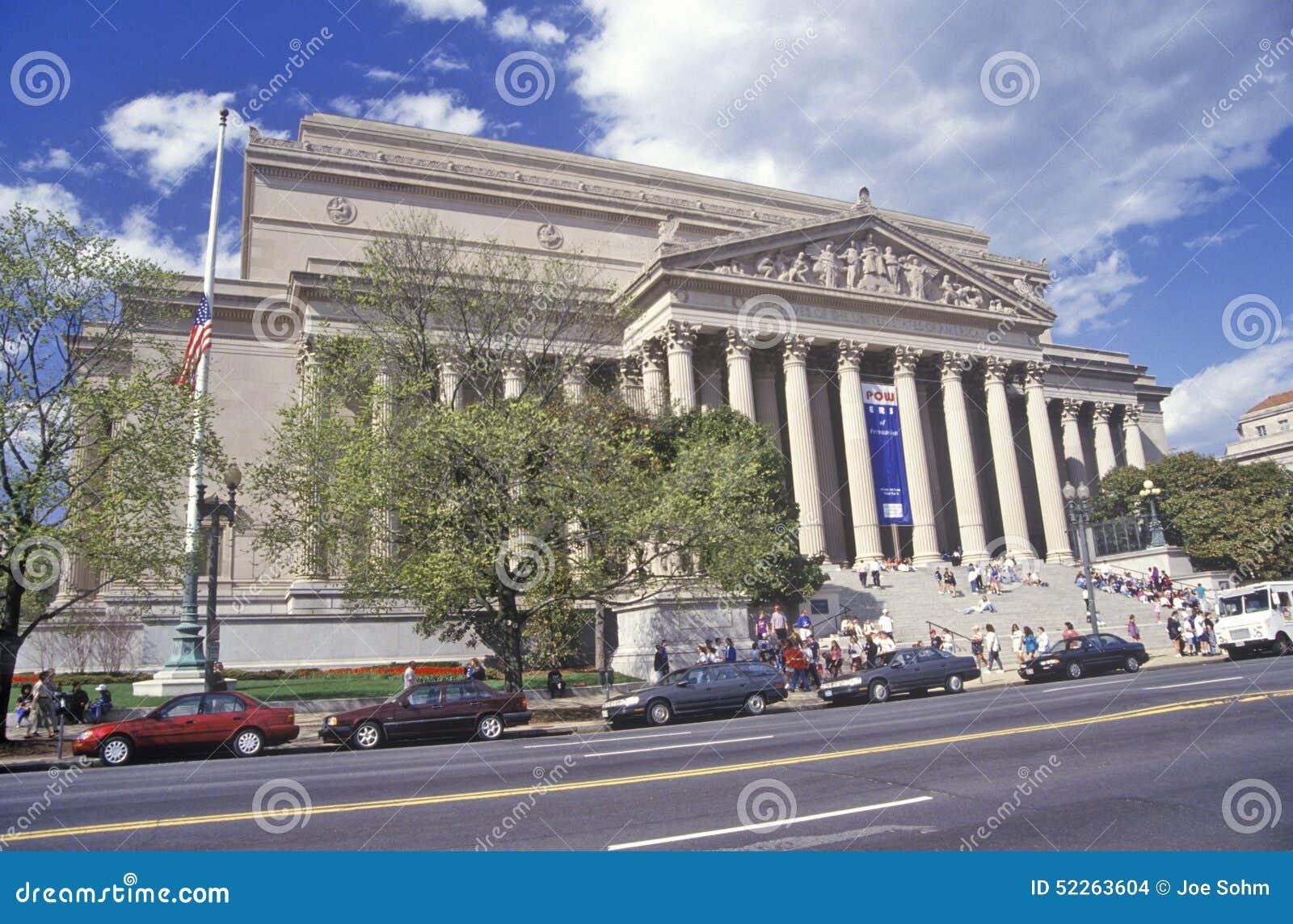 Obywatelów archiwa, dom konstytucja, Waszyngton, DC