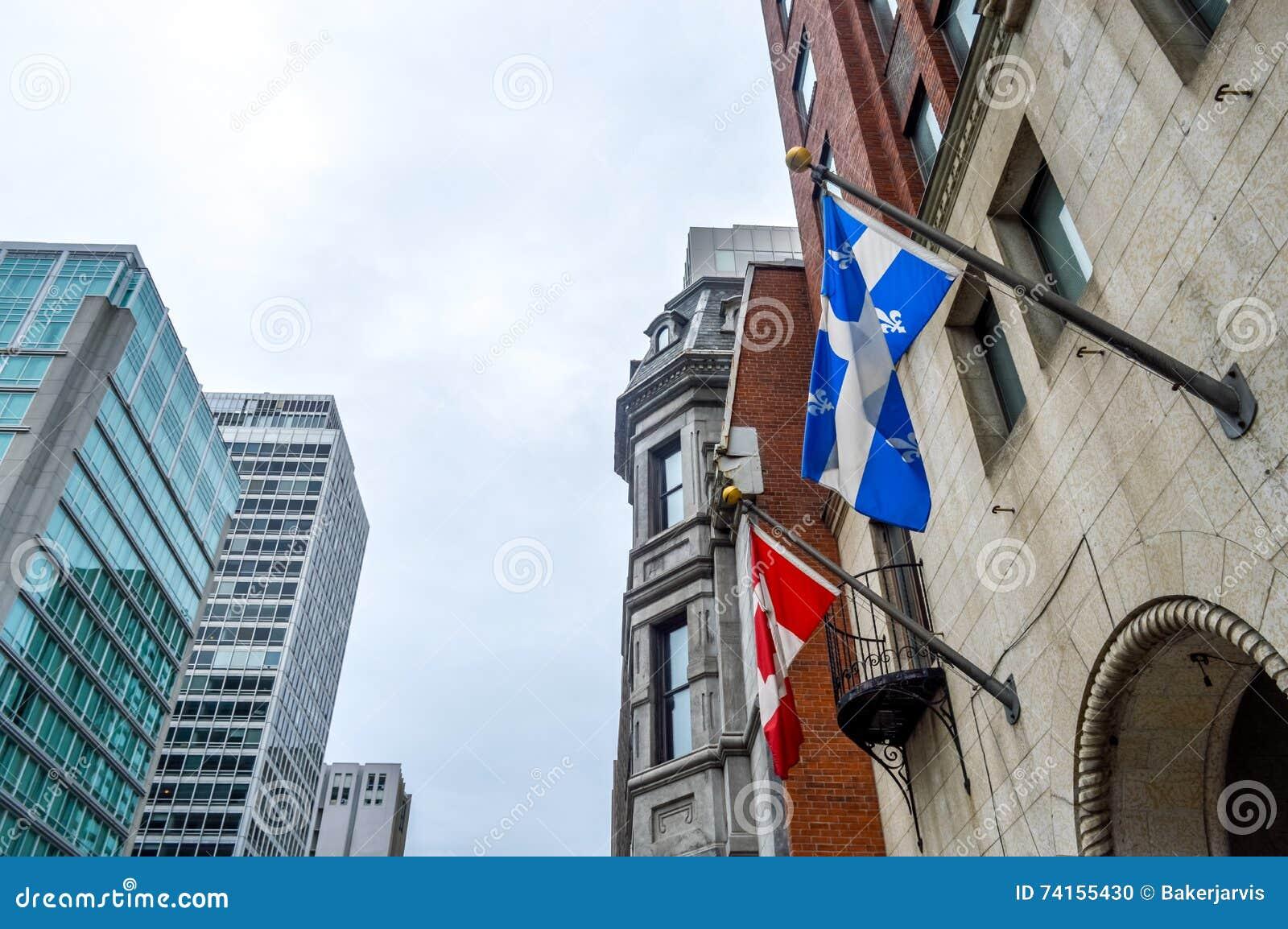 Obywatel i Quebec flaga