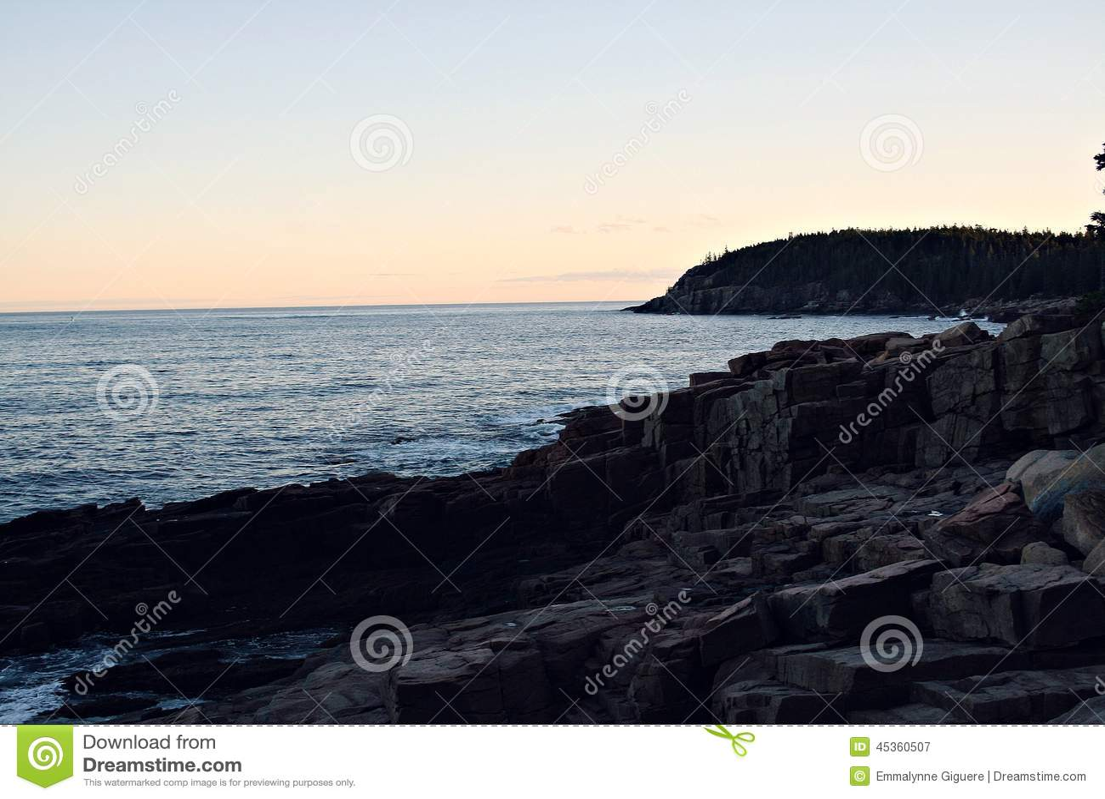 Océan de Maine