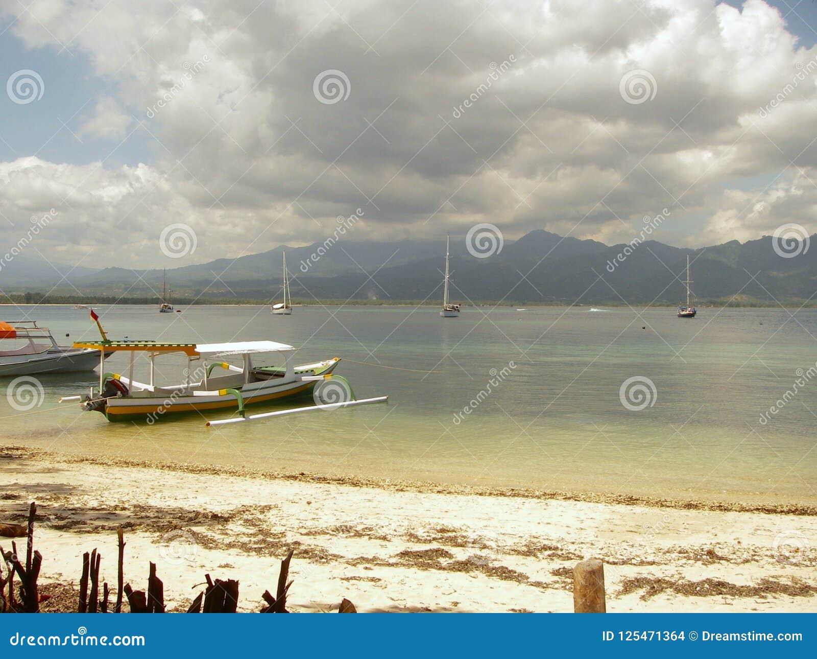 Océan de turquoise et plage de paradisiaque