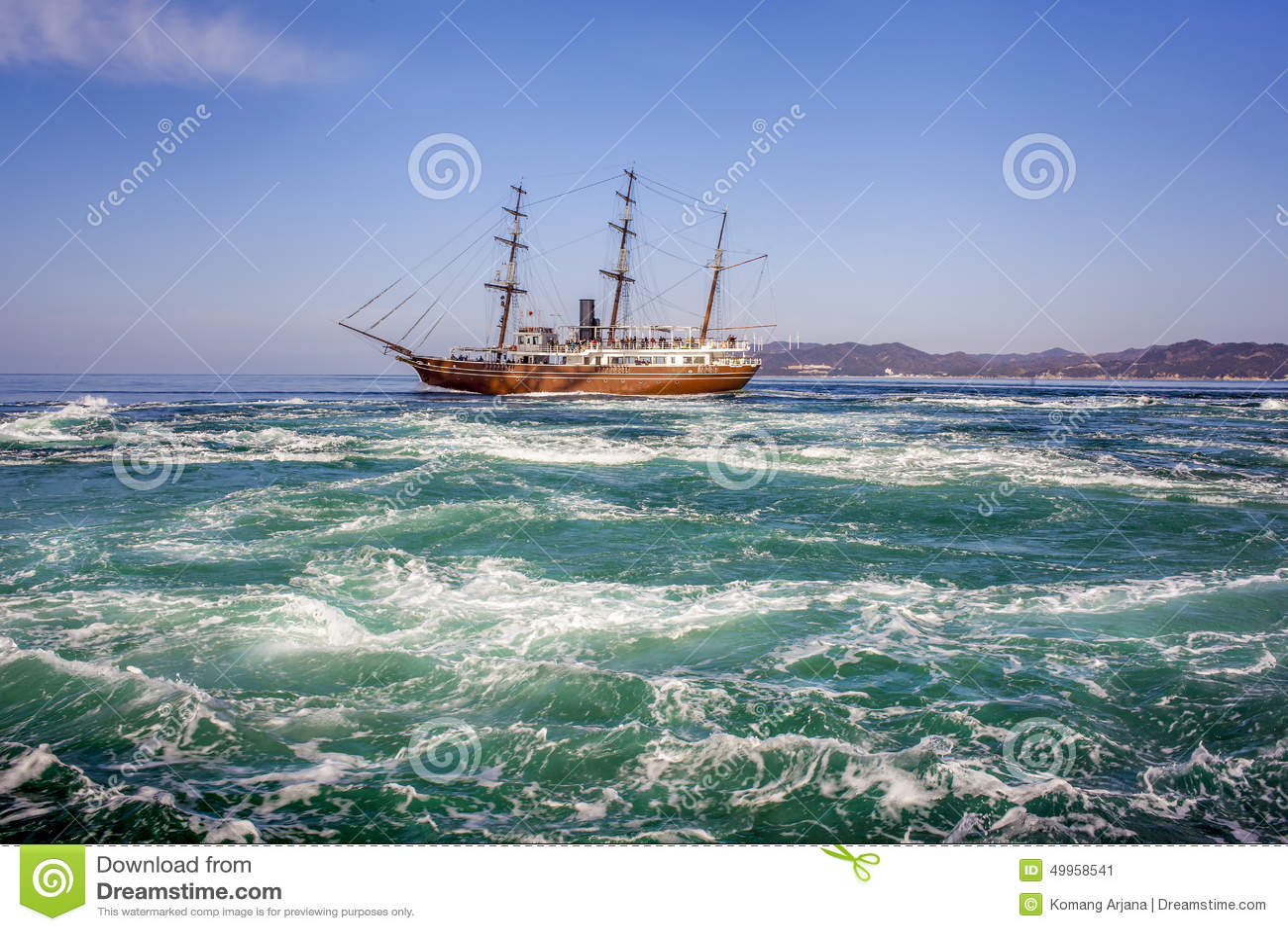 Océano de la balsa