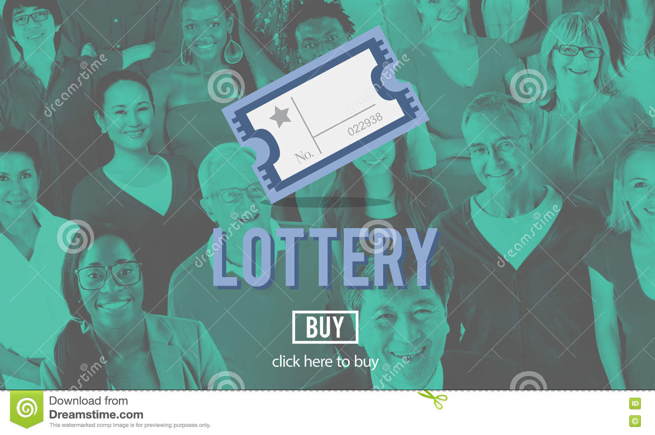 Occasion de loterie jouant Lucky Risk Game Concept