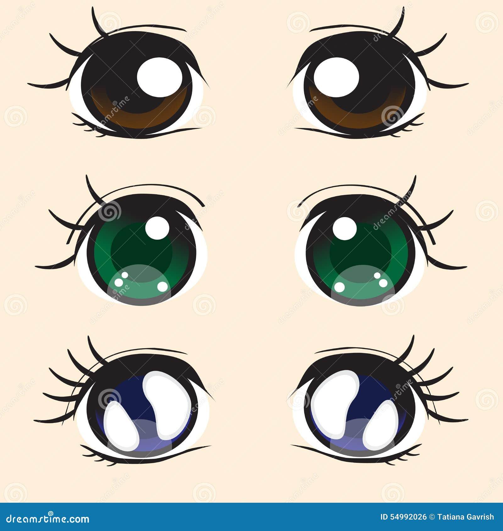 disegni con occhi grandi