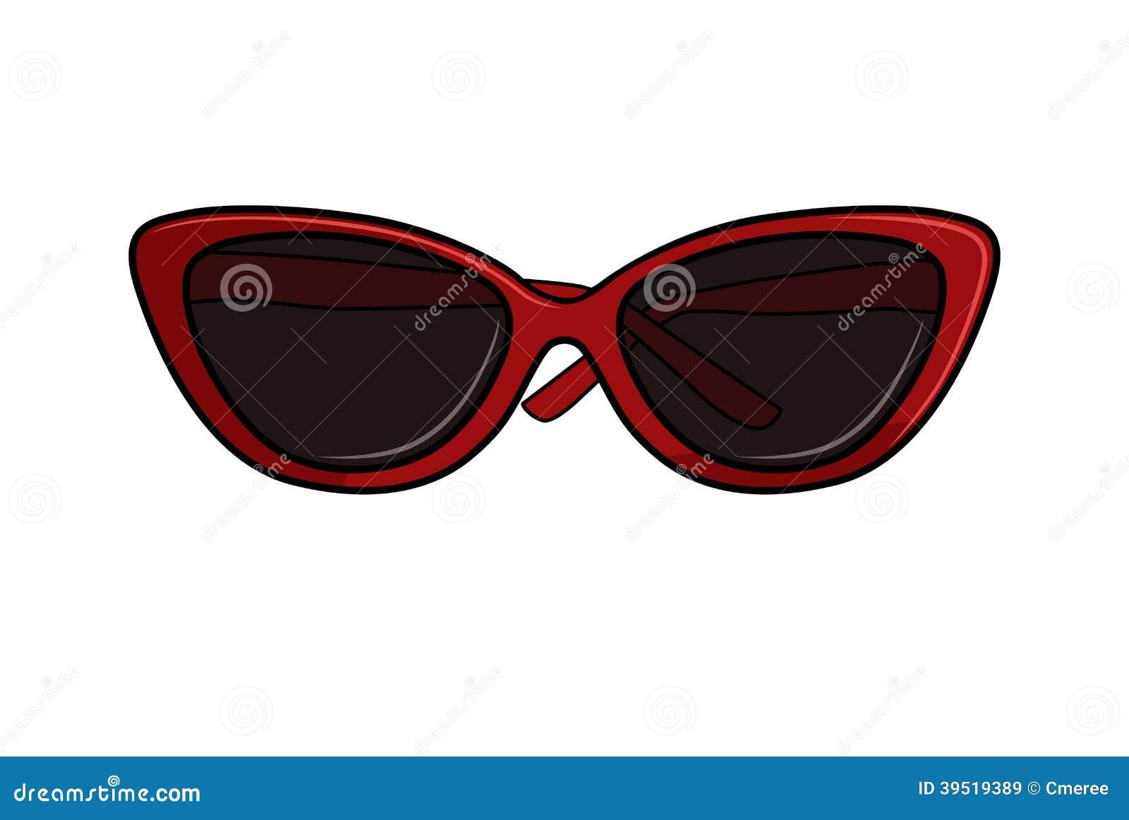 Occhiali da sole illustrazione vettoriale illustrazione for Sole disegno da colorare