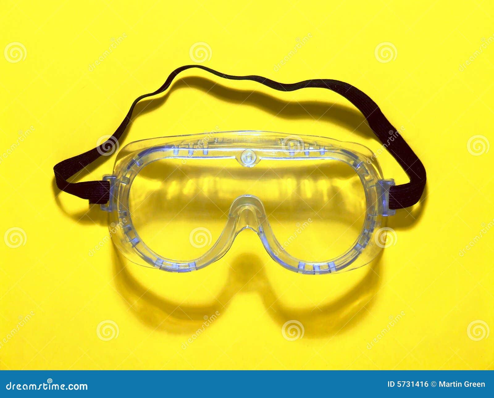 Occhiali Di Protezione Di Sicurezza Fotografia Stock - Immagine: 5731416