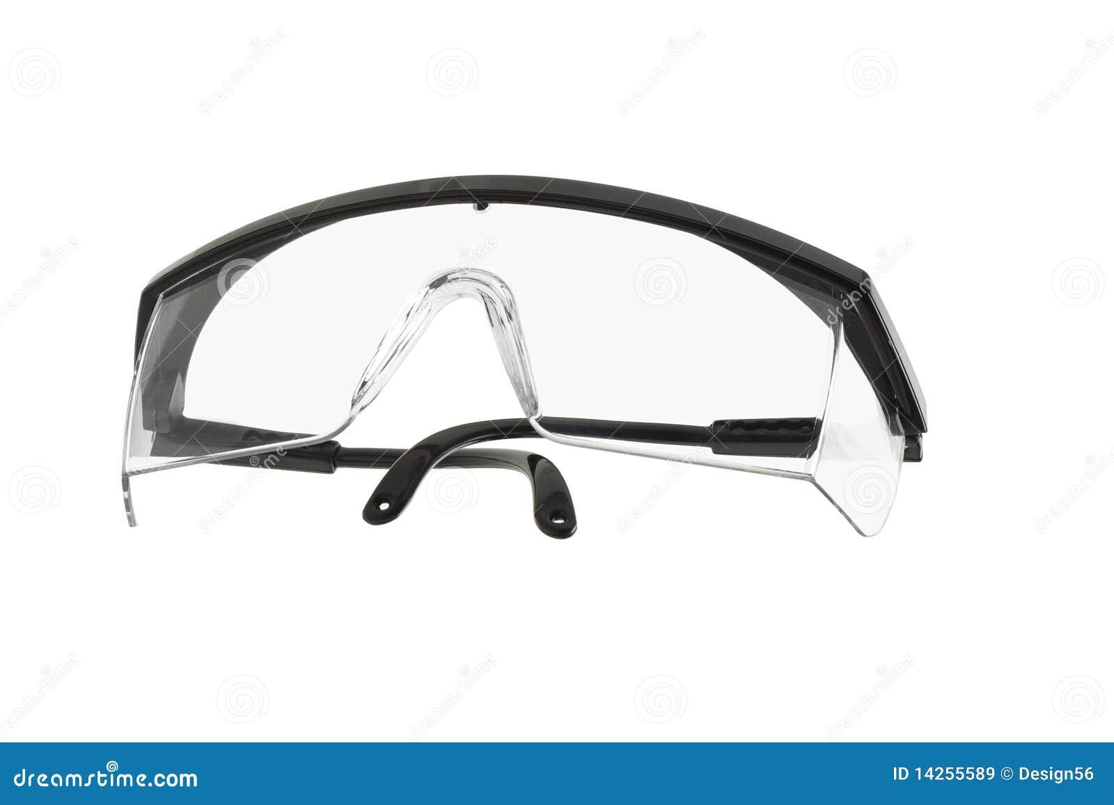 Occhiali di protezione di sicurezza di plastica