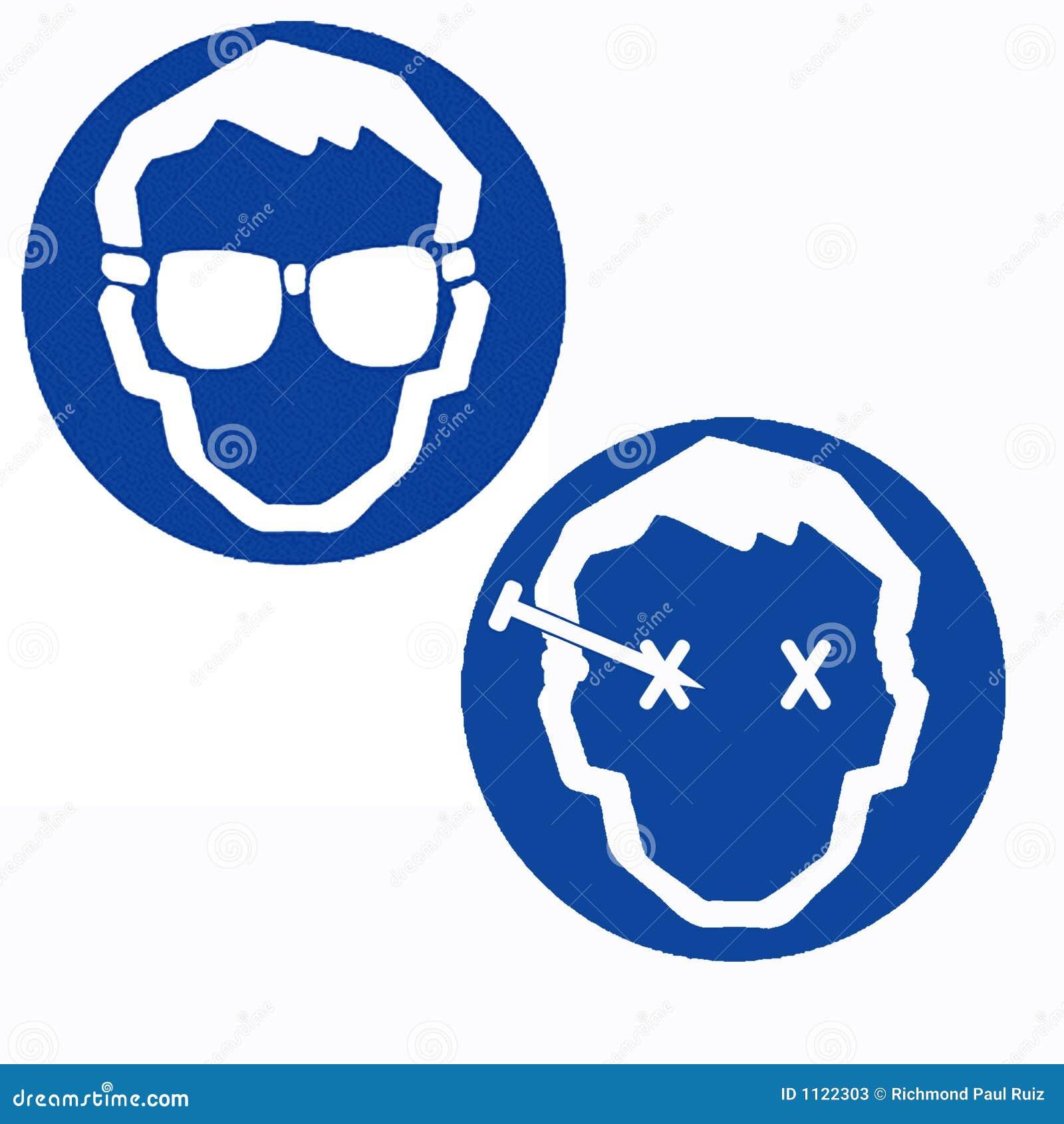 Occhiali di protezione di sicurezza di usura