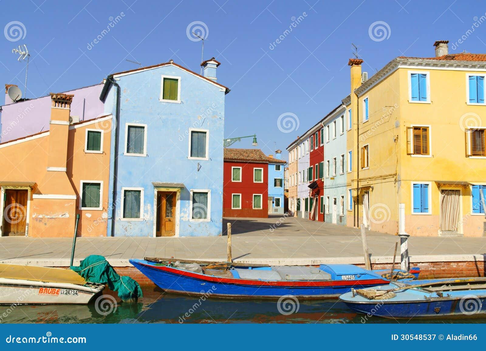 Occhiata Dellisola Di Burano, Venezia Fotografia Editoriale - Immagine: ...