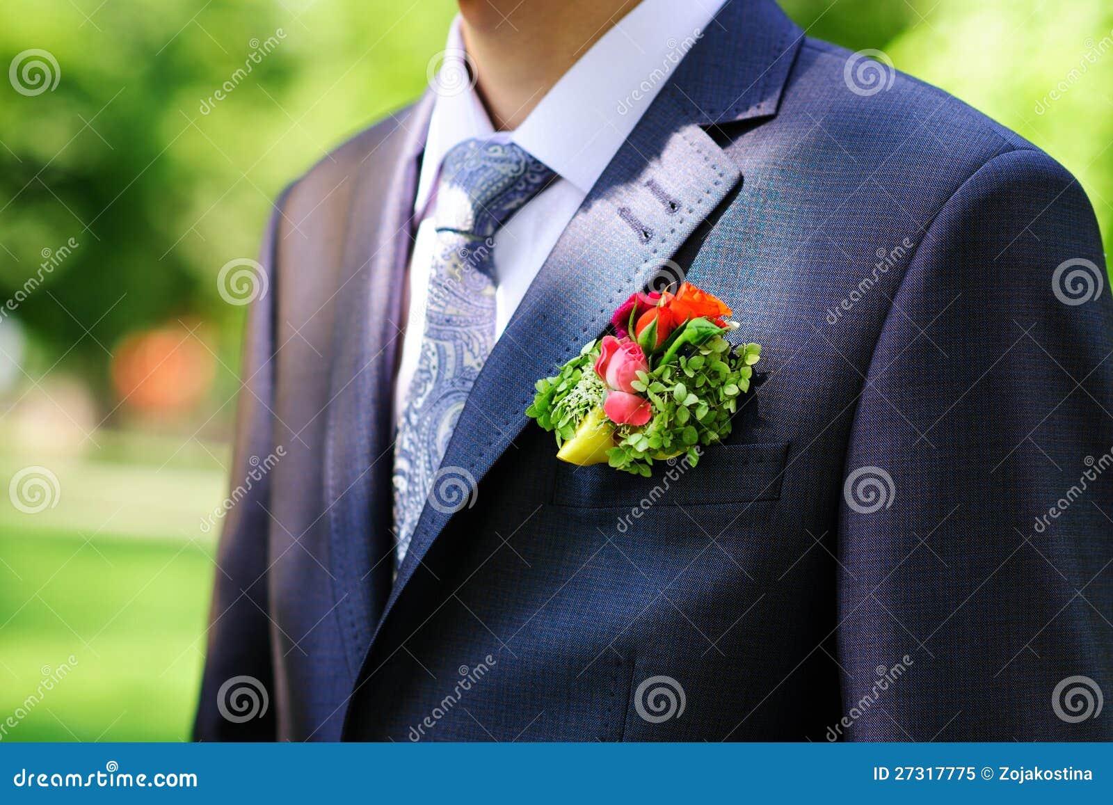 Occhiello dello sposo