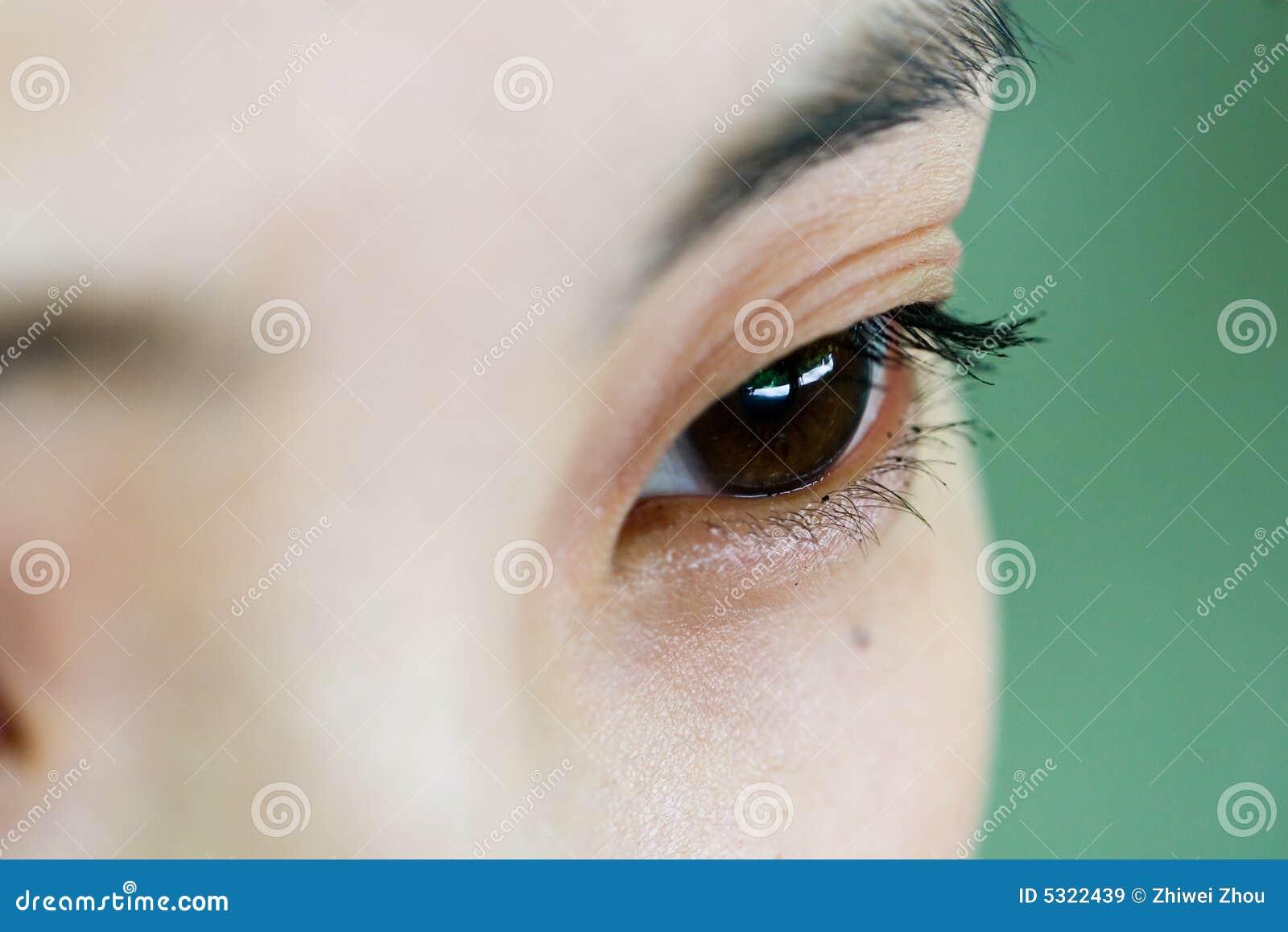 Download Occhio immagine stock. Immagine di salute, bellezza, luce - 5322439