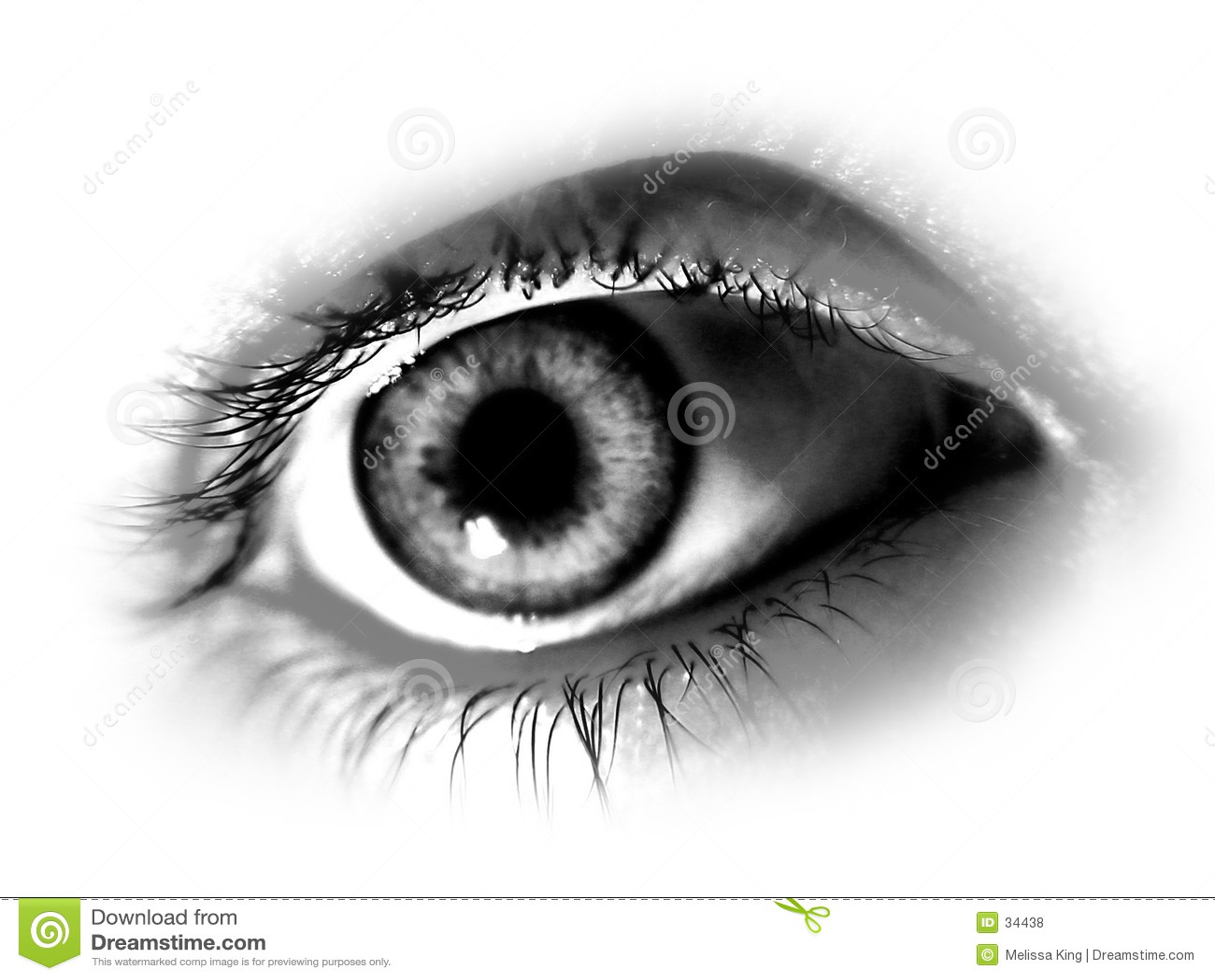 Occhio Desaturated astratto