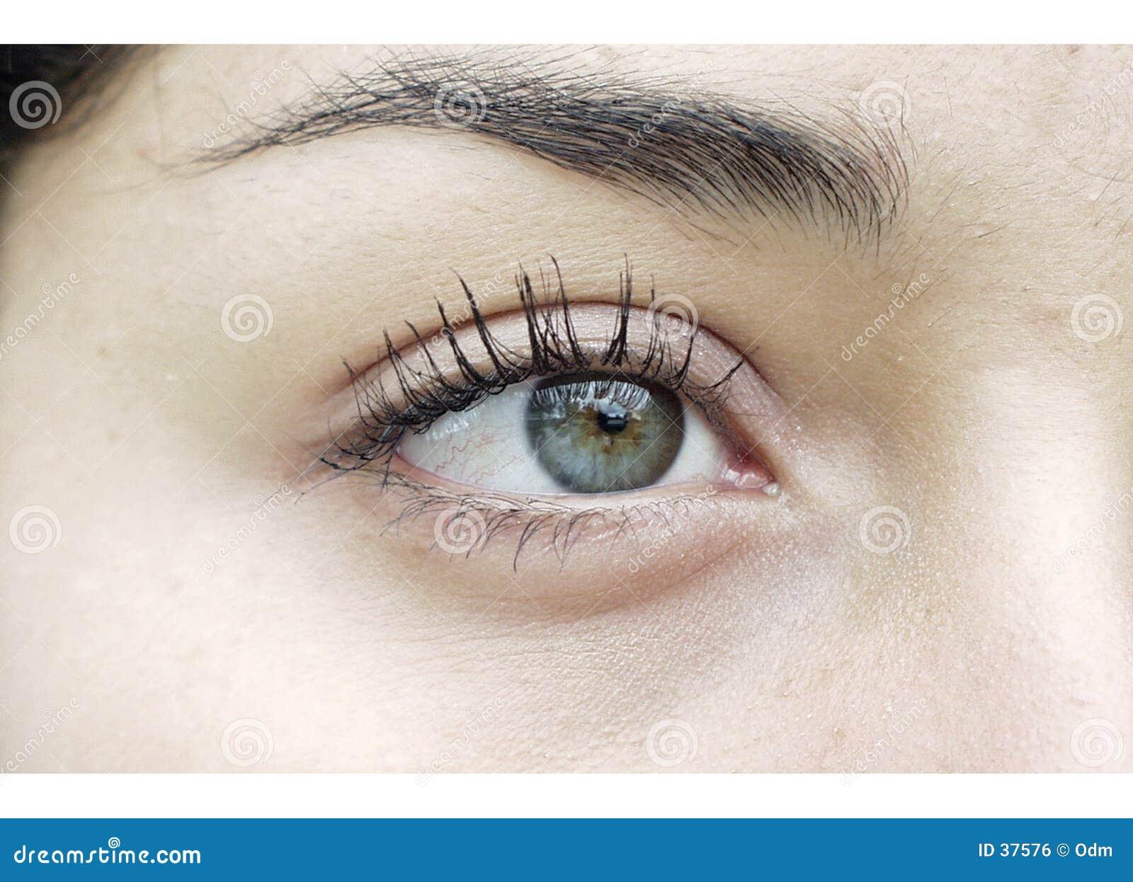 Occhio di sinistra