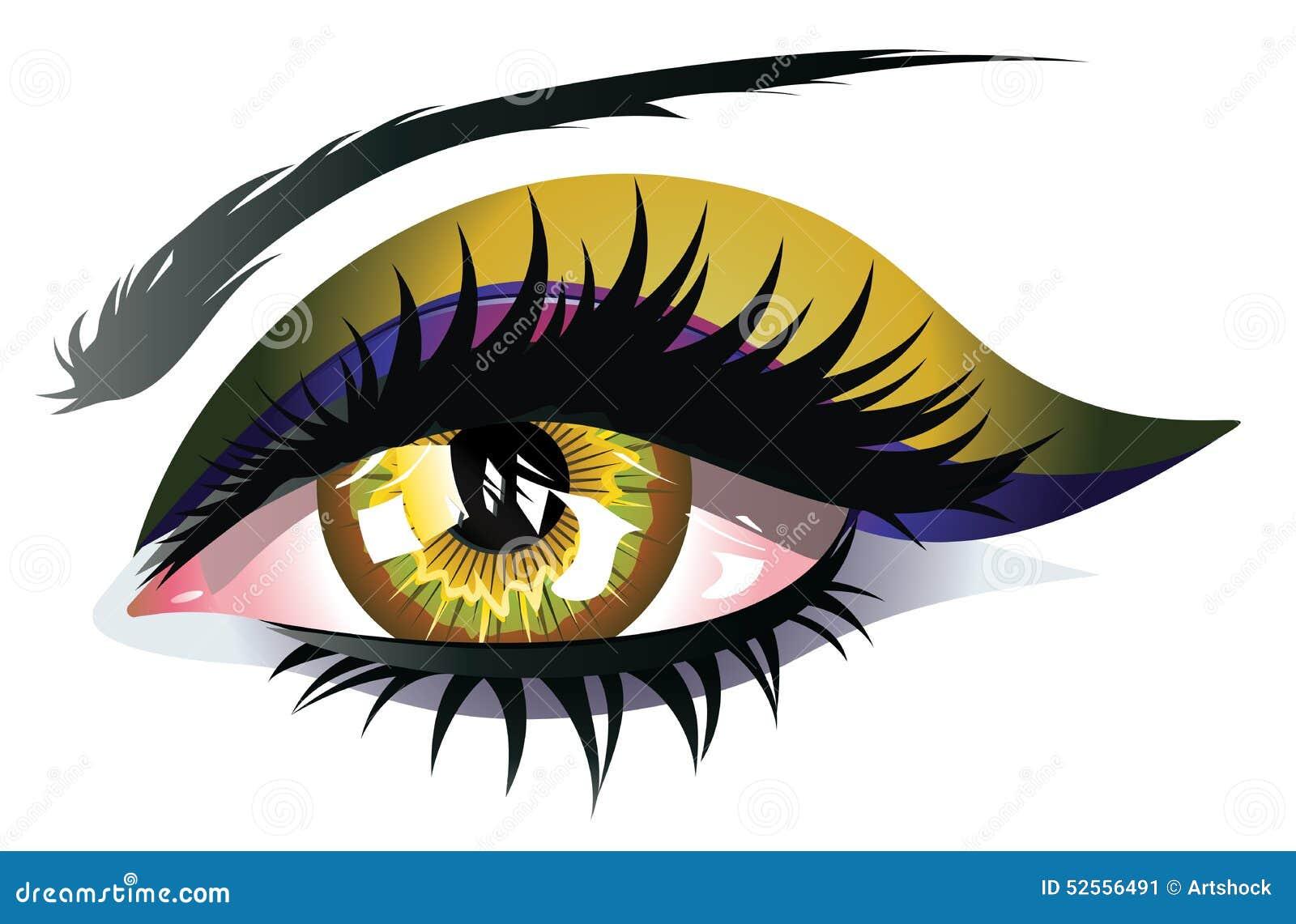 Occhio giallo