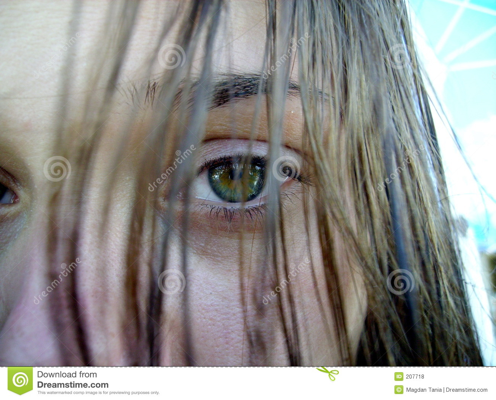 Occhio verde 2