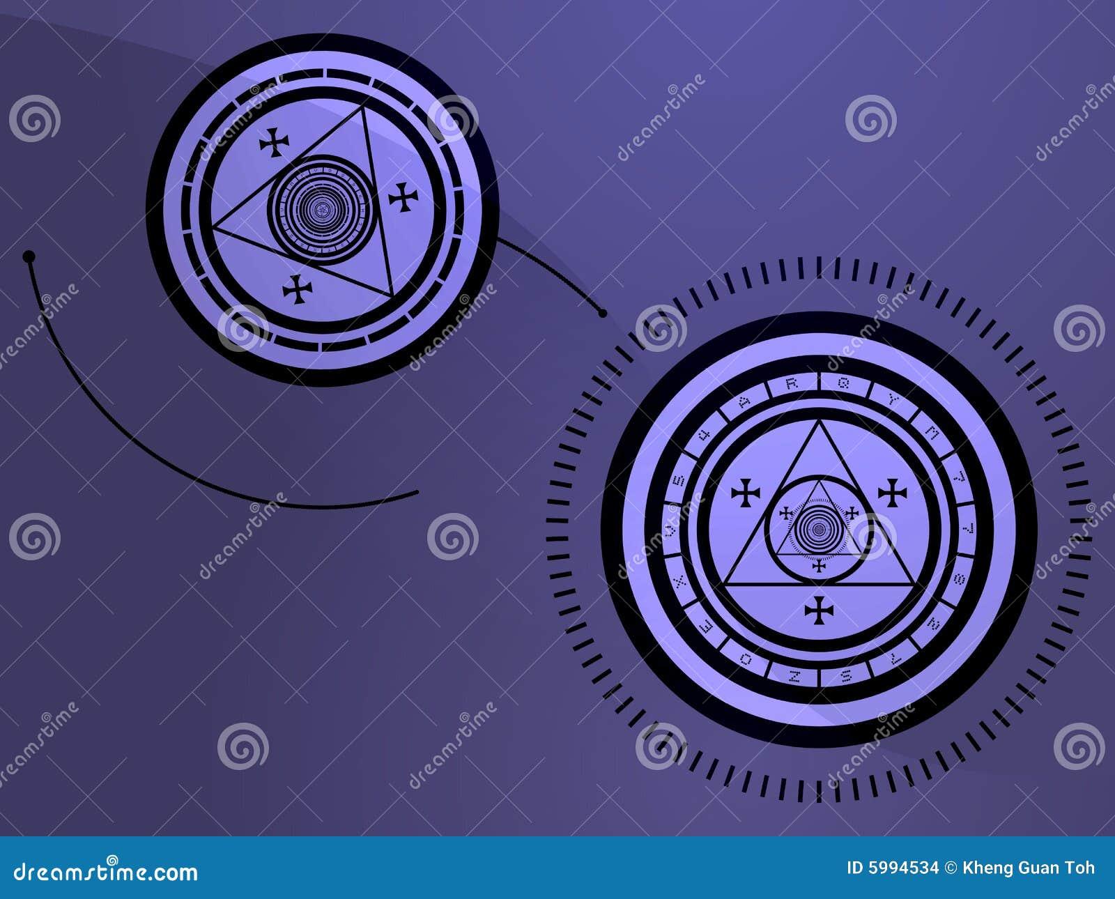 occult symbols stock illustration illustration of magic