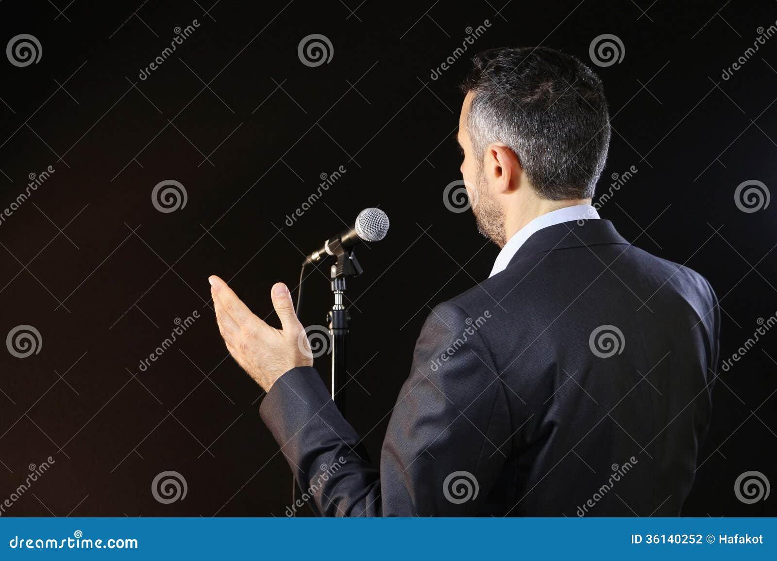 Occupandosi del timore di parlare pubblico