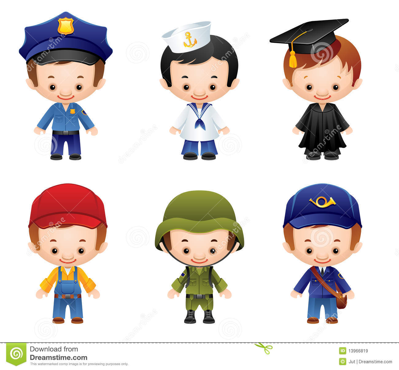 Occupation Icons Royalty Free Stock Images Image 13966819