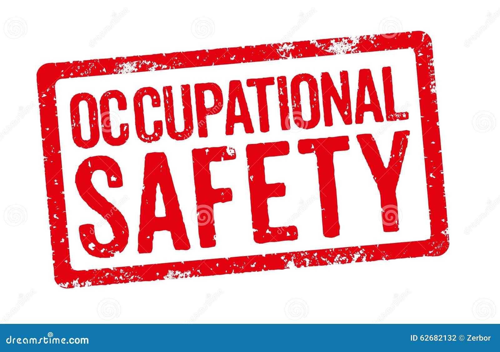 occupational safety stock illustration