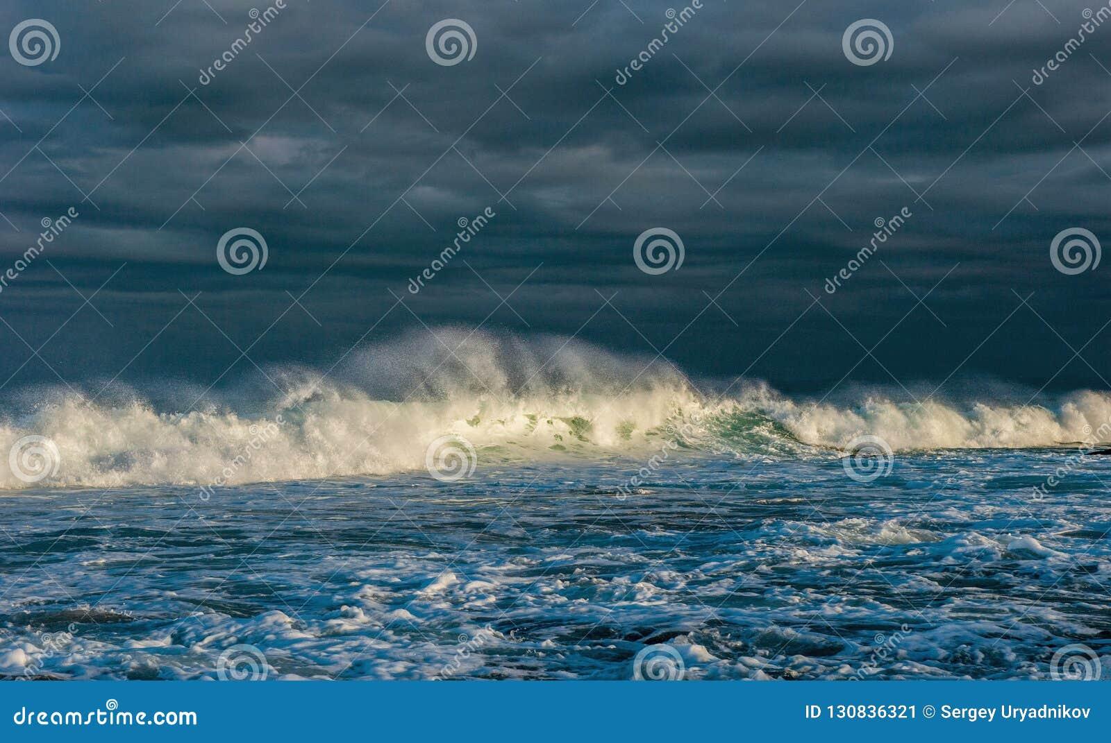 Oceaan golven  Zeegezicht