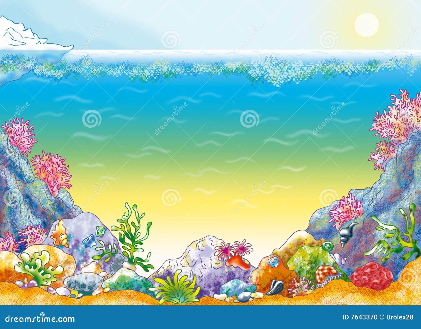 Ocean Background Stock Photo Image 7643370