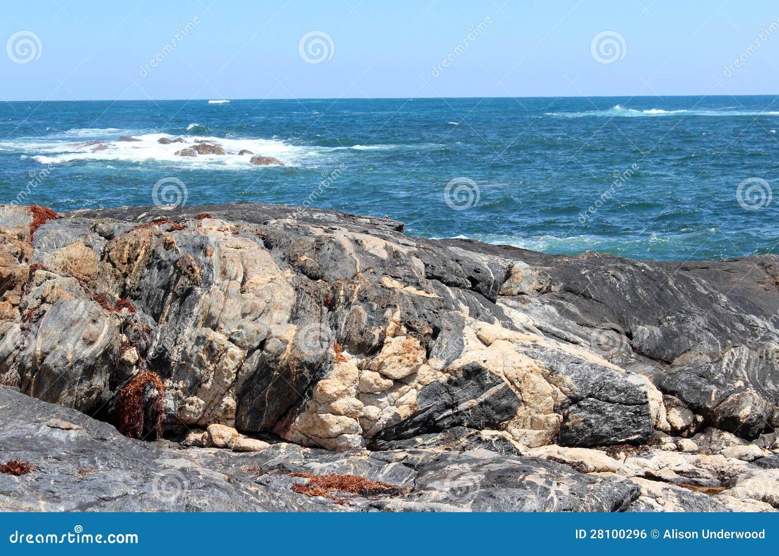 Ocean Indyjski przy Skippy Rockowy Zachodni Australia