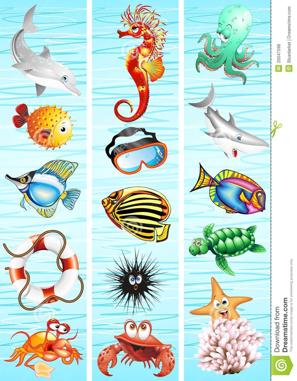 ocean sea animal background royalty free stock photos image