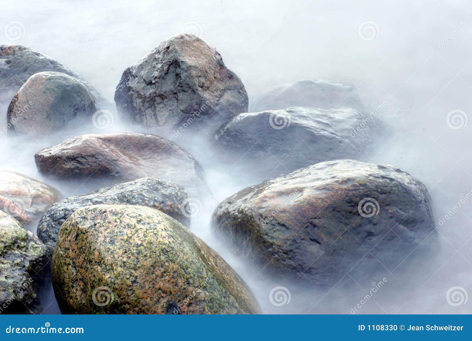 on stones ocean - photo #7
