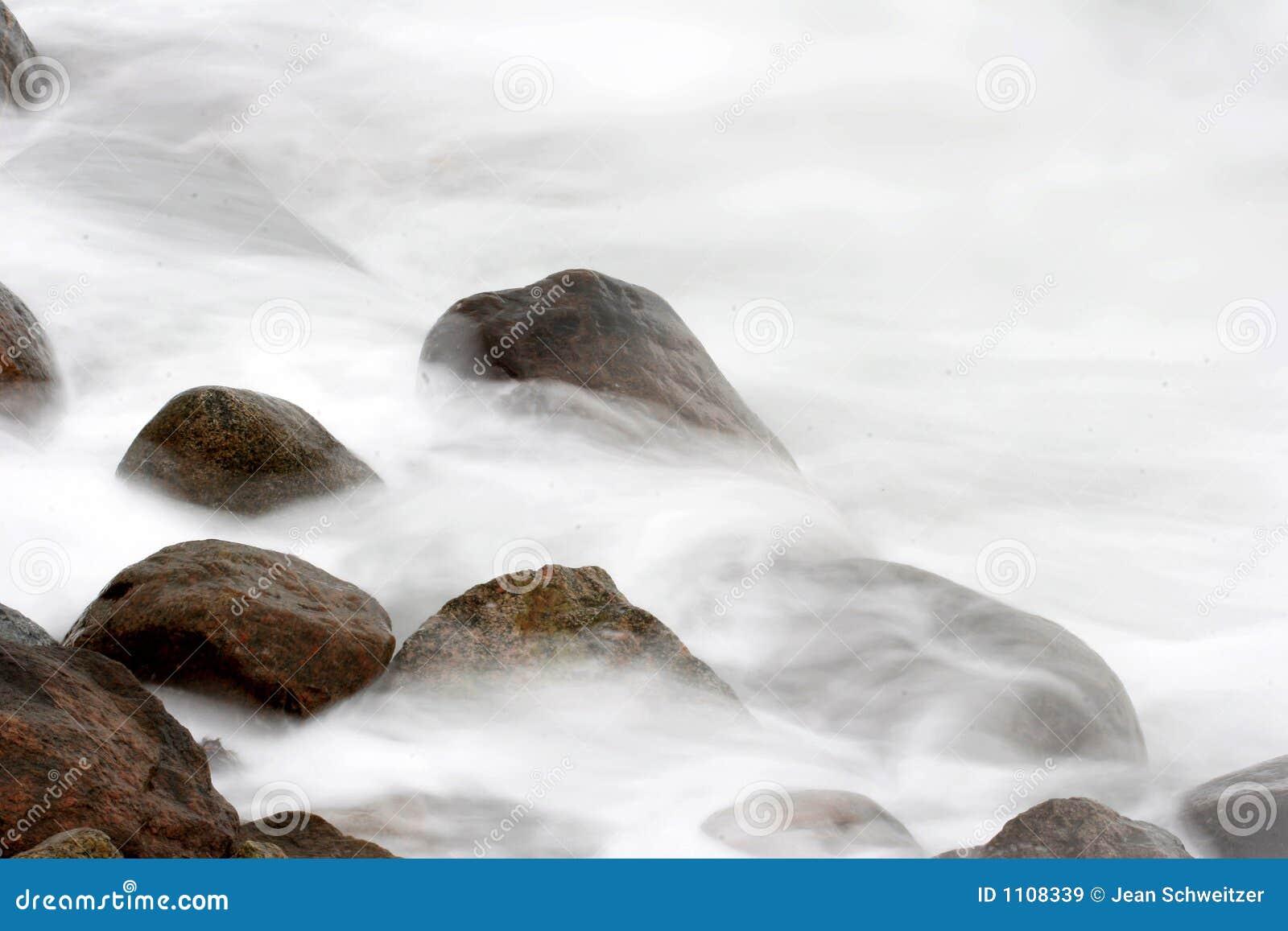 on stones ocean - photo #36