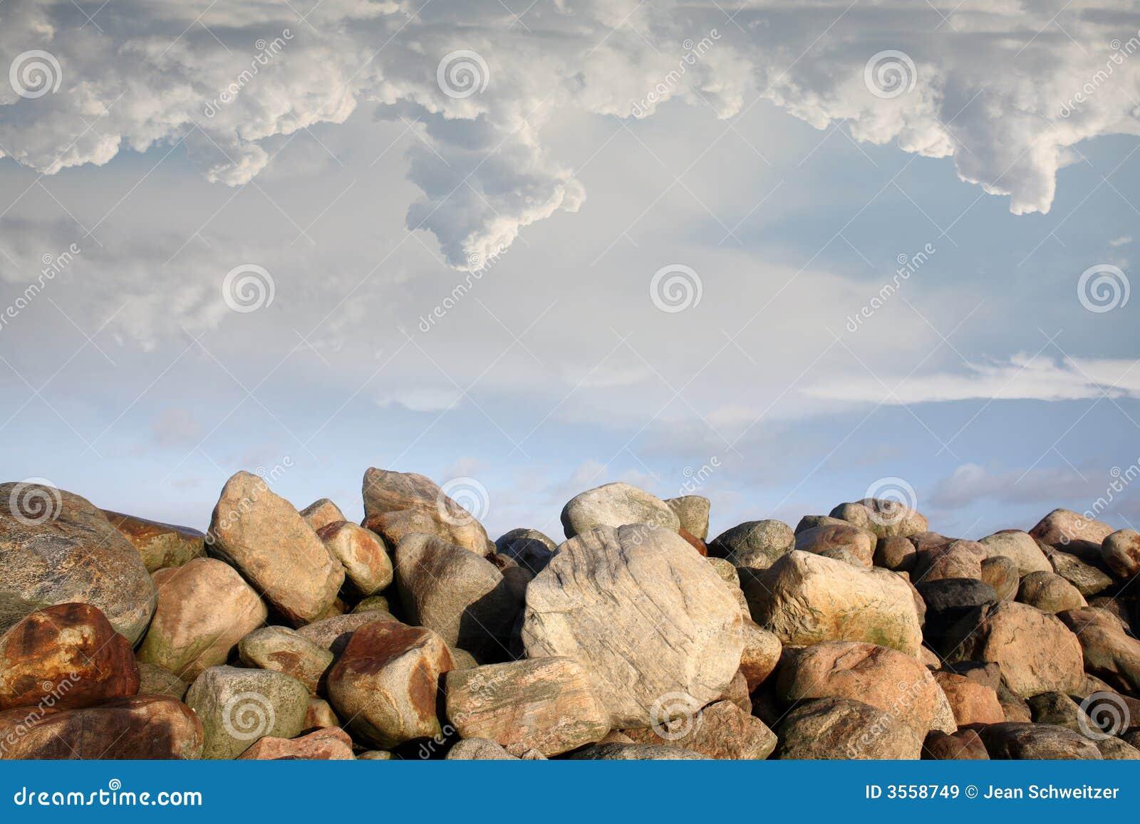 on stones ocean - photo #47