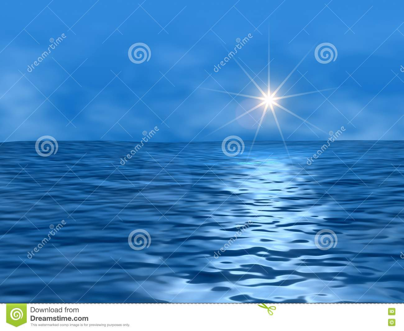 Stock Images  Ocean And Sun Picture. Image  5642574 c2f8b4f754e