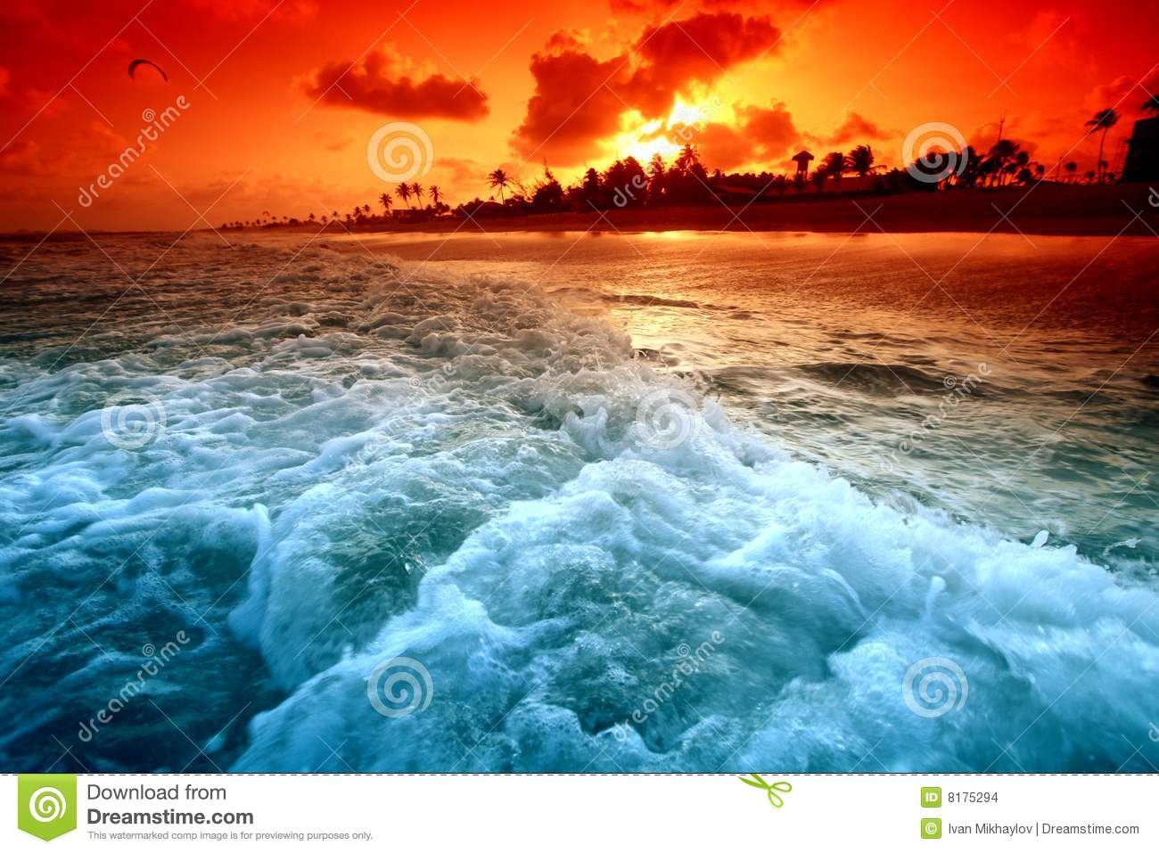 Nature Images 2mb: Ocean Sunrise Stock Images