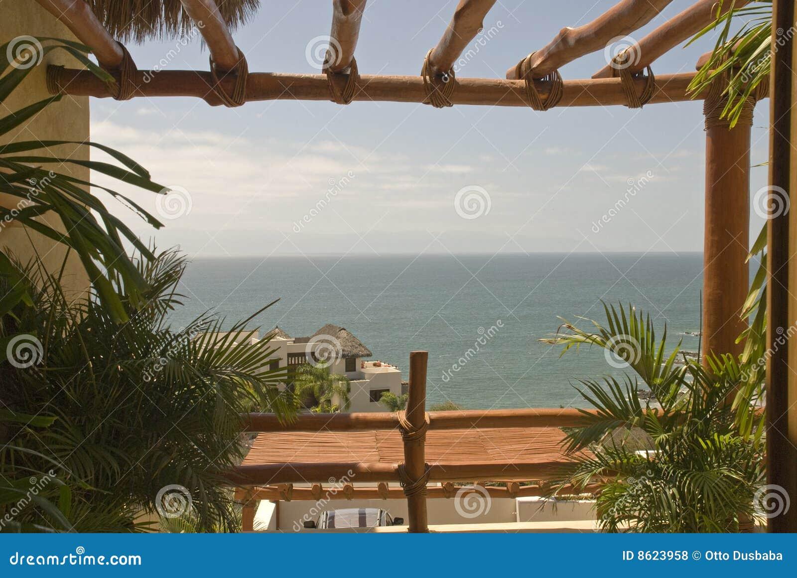 Ocean tropikalny okno Pacific