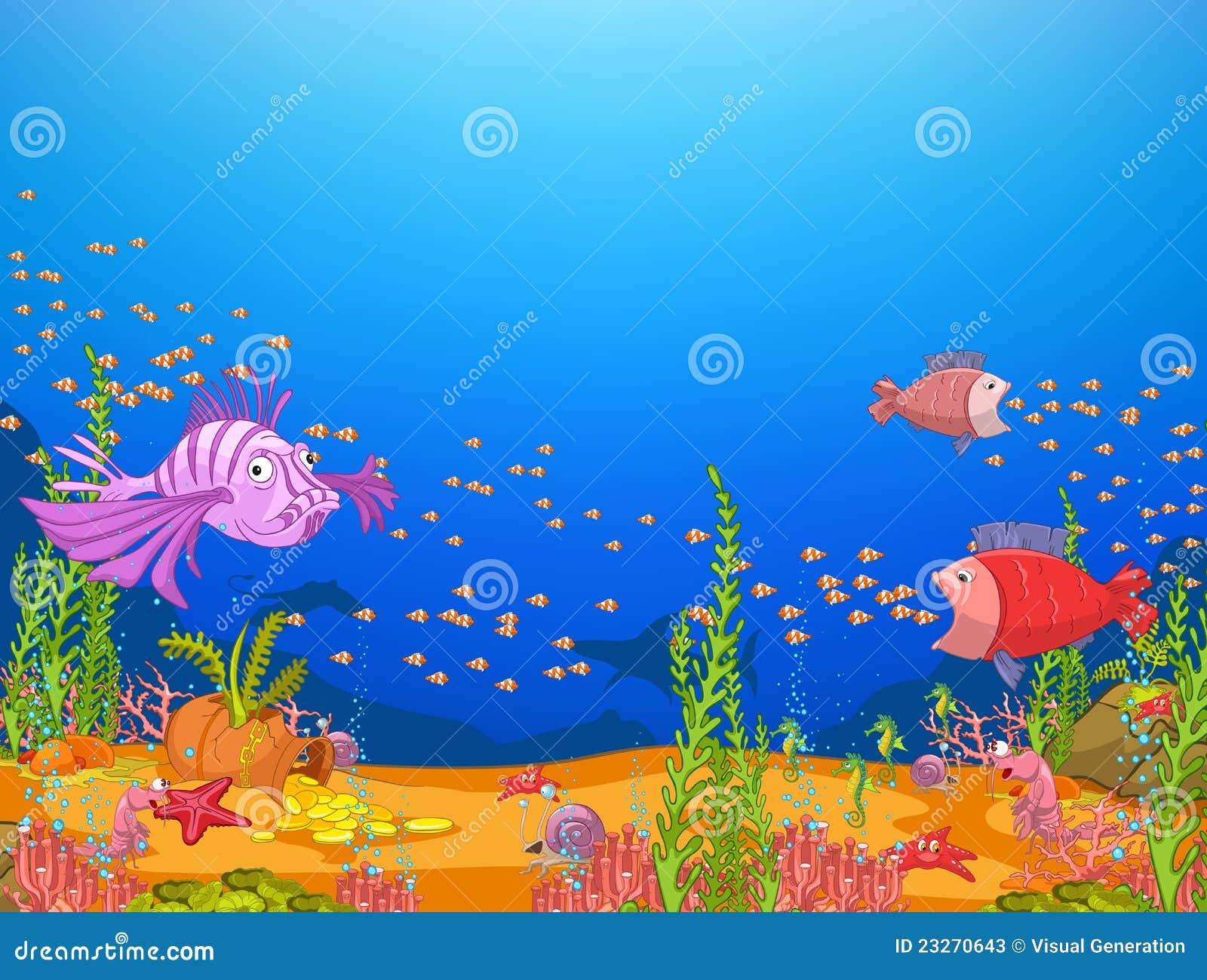 underwater cartoon wallpaper - photo #19