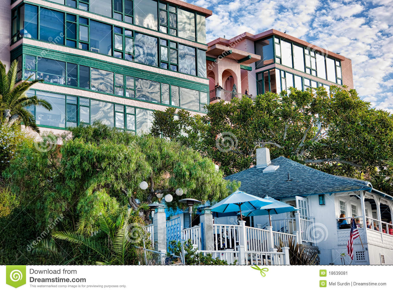 ocean view apartments la jolla california editorial photo image