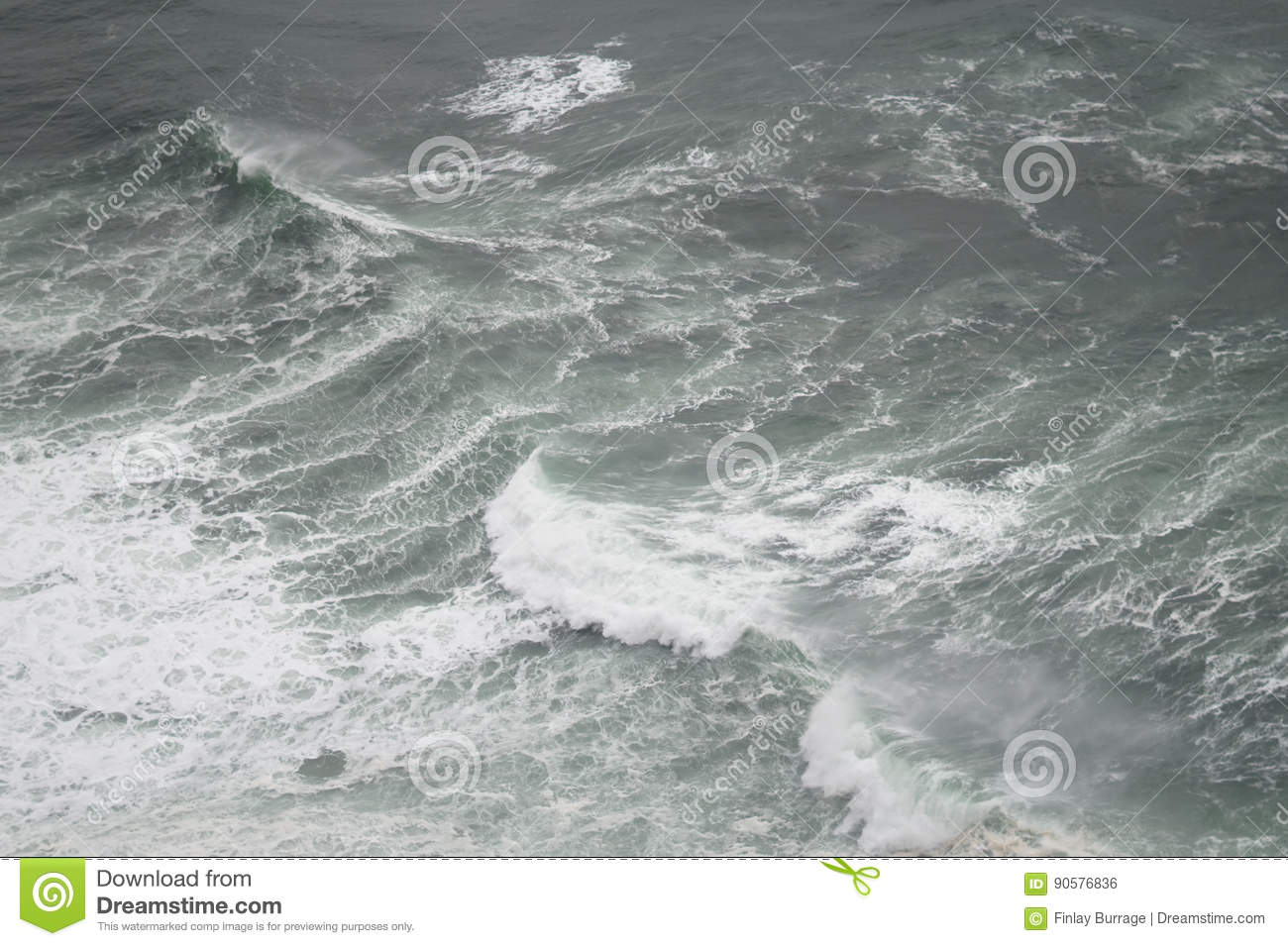 A View Of The Ocean From Above Perfect As Simple Aesthetic Image Or Background