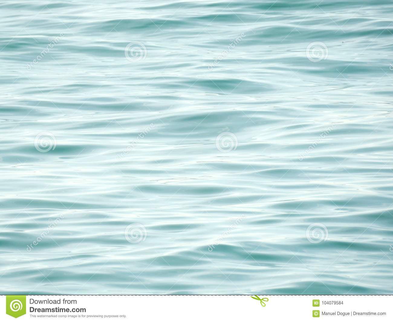 Ocean waves. Clean water background, calm waves.